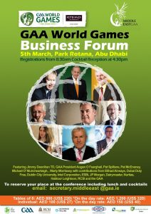 World GAA Games Flyer 3