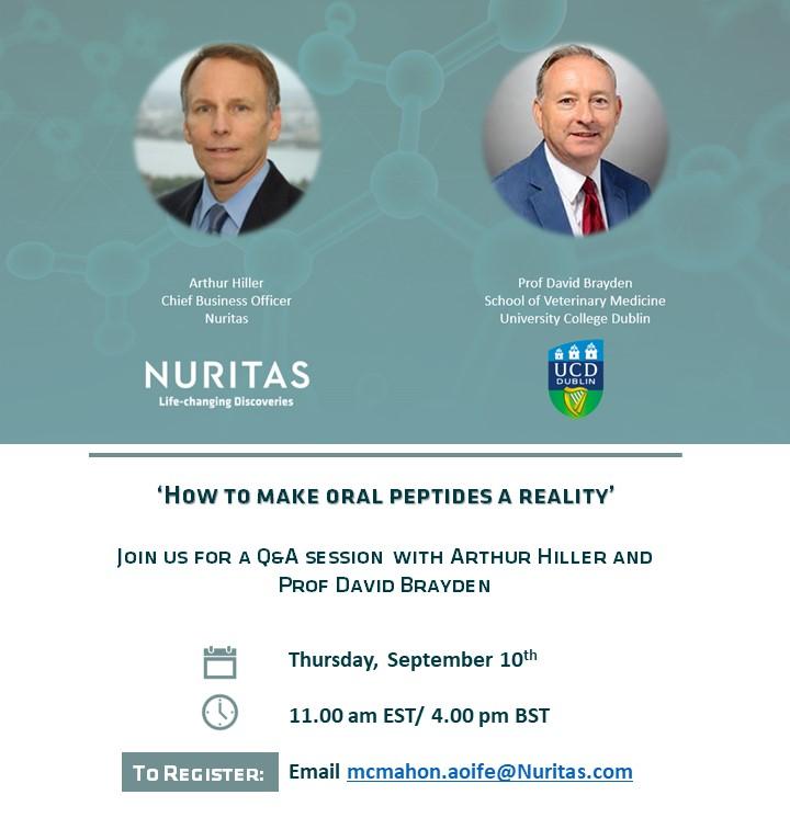 Nuritas Hosts Inaugural Webinar